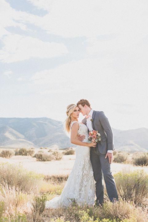 Classic Wedding Style in the Utah Desert   As Ever Photography   Dreamy Desert Sunshine Wedding Inspiration