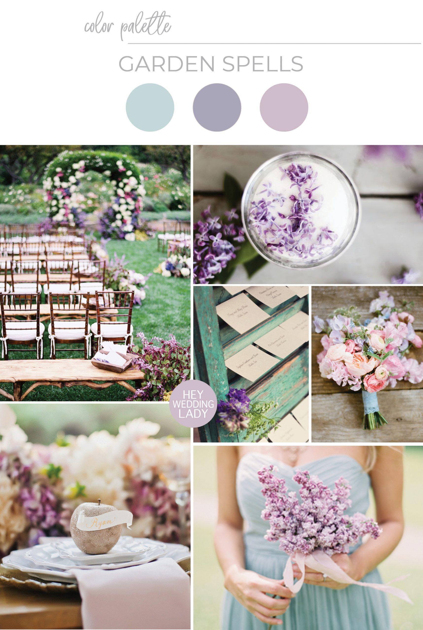 Garden Spells - Enchanting Lilac and Soft Green Southern Garden Wedding