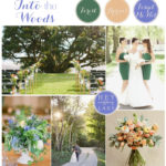 A Romantic, Woodsy Inspiration Board