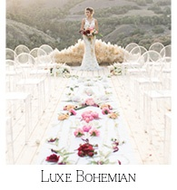 Luxe Bohemian Styled Wedding