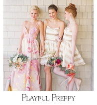 Playful and Preppy Bridal Shoot
