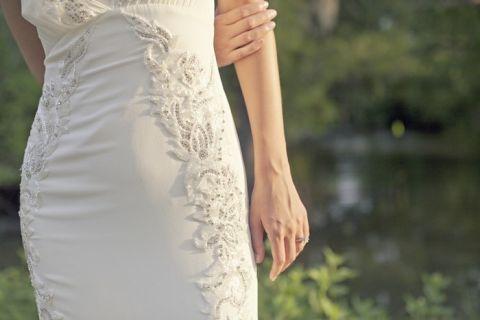 Stunning Vintage Wedding Dress for a Styled Bridal Shoot on Hey Wedding Lady