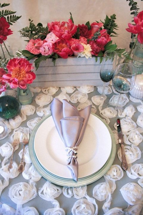 Coastal Fog Styled Shoot in Mint and Coral from Hey Wedding Lady