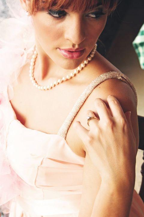Blushing Beauty Styled Bridal Portraits