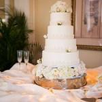 Elegant Slate Blue and Blush Wedding