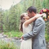Jewel Tone Autumn Wedding in the Rocky Mountains