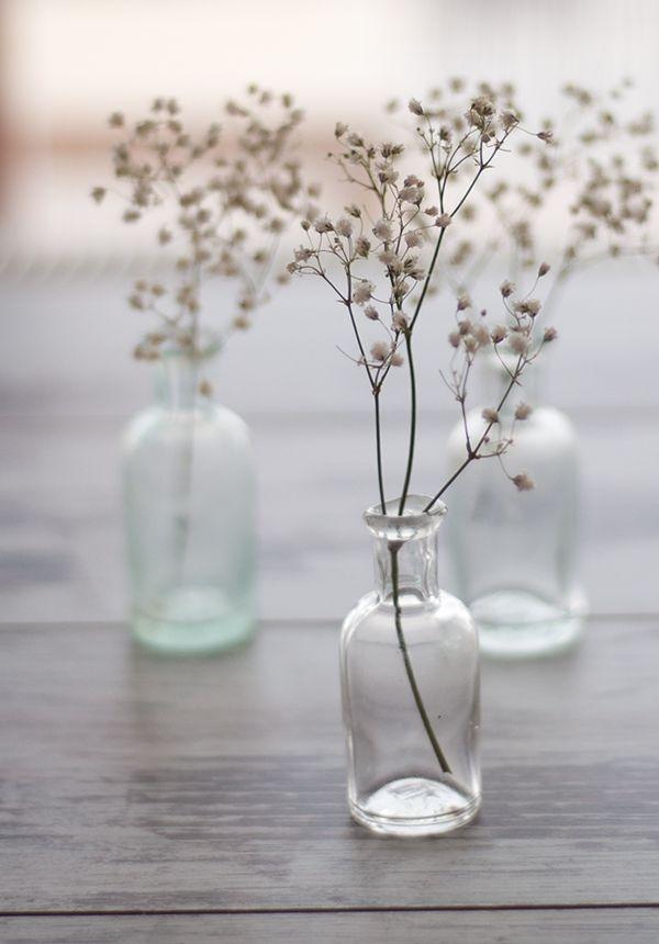 S Glass Vases On Stems