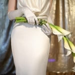 Sleek Calla Lily Bouquet | Glamorous Art Deco Styled Wedding