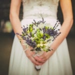 Fresh Green and Lavender Bouquet | Love Out Loud Studios | Gorgeous Rustic Bohemian Wedding in Vancouver