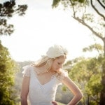 Floral Crown by Aphrodite's Garden | Spring Wedding Bridal Style from Just for Love Photography