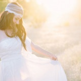 Magic Hour Bridal Portraits | Rachel Ann Photography