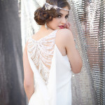 Beaded Vintage Wedding Dress | Glamorous Art Deco Styled Wedding