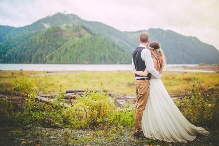 Gorgeous Rustic Bohemian Wedding In Vancouver Hey Wedding Lady