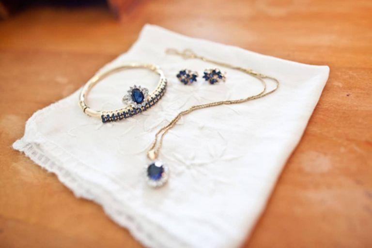 Vintage Sapphire Wedding Jewelry