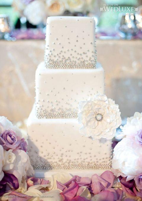 Stardust Wedding Cake