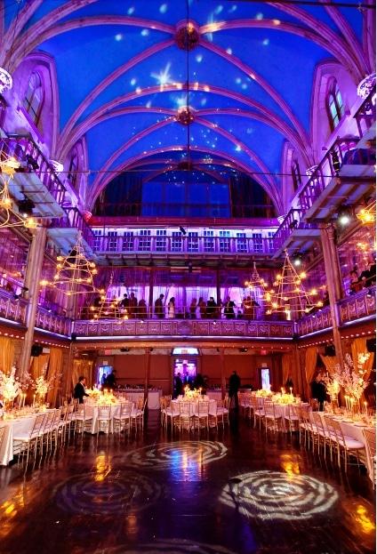 Starry Night Wedding Lighting