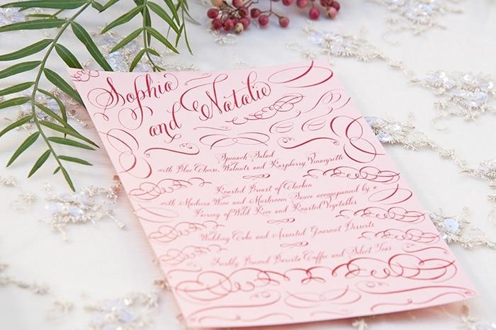 Romantic Wedding Invitation | Vintage Garden Styled Shoot
