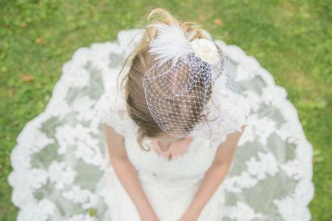 Gorgeous Lace Wedding Dress | Roxana Albusel Photography