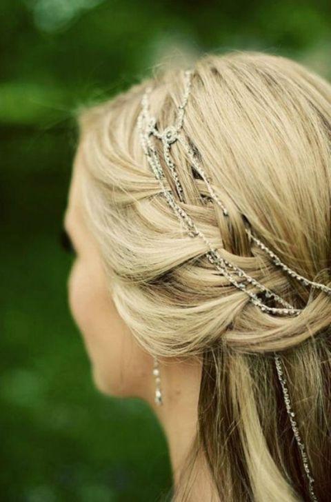 Custom Made Rangoli Cascade Hair Jewelry | We Are the Mastersons