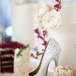 Sweets & Sparkly Silver Heels | Maru Photography | Let It Snow - Sweet Winter Wedding Shoot