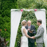 Sweet Garden Ceremony | Roxana Albusel Photography