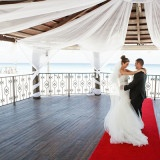Elegant Draped Wedding Gazebo | Donal Doherty Photography