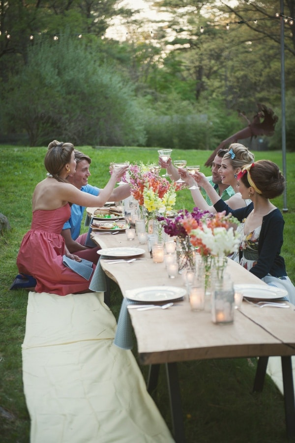 Cheers to Retro Chic! | Carla Ten Eyck Photography