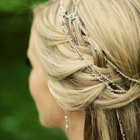 Wedding Hair Jewellery : Bridal hair jewelry a glam new hairstyle trend hey