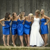 Classic Royal Blue Wedding from Maru Photography