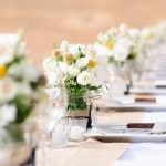 Sunny Yellow and Navy Ranch Wedding from Looking Glass Photography