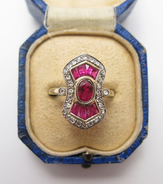 Precious Gems - Emerald and Antique Ruby Wedding ...