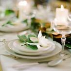 Classic Gardenia Place Setting | White Loft Studio