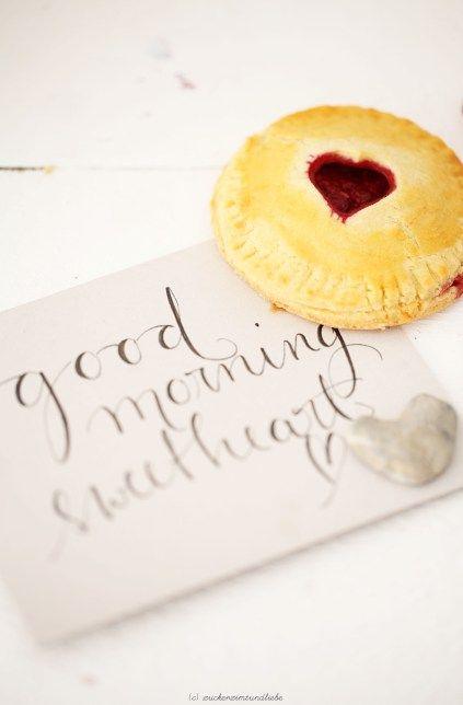 Heart Shaped Raspberry Tart