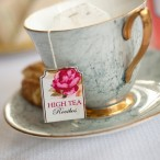Vintage Mint and Gold Tea Cup | Mandy Pietersen Photography