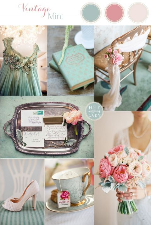 Vintage Mint - Sea Foam and Blush Wedding Inspiration
