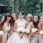 Sweet and Stormy Yosemite Wedding from Lisa Mallory