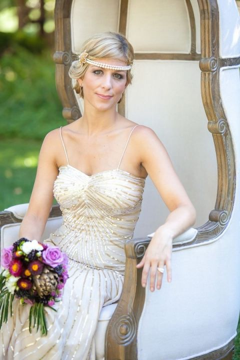 Vintage Hollywood Glam in Wine Country from Allyson Wiley - Hey ...