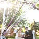Elegant Gold and Purple Wine Country Wedding   Allyson Wiley