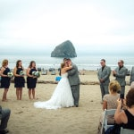 Foggy Oregon Coast Beach Wedding | Sikora Photography