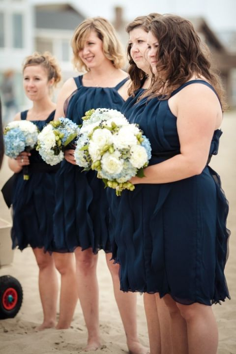 Bridesmaid Dresses For The Beach Wedding 97 Good Bridesmaids in Navy and