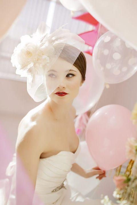 Glamorous Bridal Style | Maru Photography | https://heyweddinglady.com/glamorous-red-white-blush-wedding-inspiration-time-valentines-day/