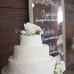 Spring Centerpiece For a Rustic Barn Reception | Barefeet Photography | see More: https://heyweddinglady.com/blush-and-ivory-spring-wedding-at-thistle-springs-ranch-from-barefeet-photography/