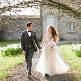 British Church Ceremony in the Spring | Brosnan Photographic | See more: http://heyweddinglady.com/a-village-fete-elegant-pastel-inspiration-for-an-english-spring-wedding/
