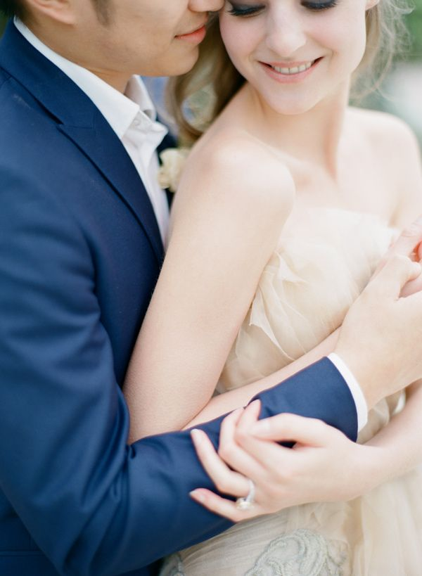 Summer Chic Groom in a Navy Suit | Alea Lovely Photography