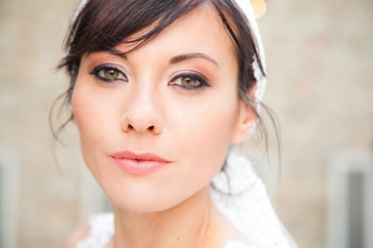 Blushing Spring Wedding Makeup | Rosapaola Lucibelli Photography | See More! http://heyweddinglady.com/italian-chic-spring-styled-wedding-from-rosapaola-lucibelli/