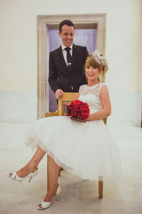 Mod and Fabulous Bride and Groom | IQphoto Studio | See More! http://heyweddinglady.com/a-chic-san-francisco-city-hall-elopement-from-iqphoto-studio/