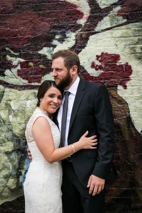 Urban Wedding Portraits in the heart of Brooklyn | Kelly Williams, Photographer | http://heyweddinglady.com/romantic-rustic-urban-wedding-at-brooklyn-winery/