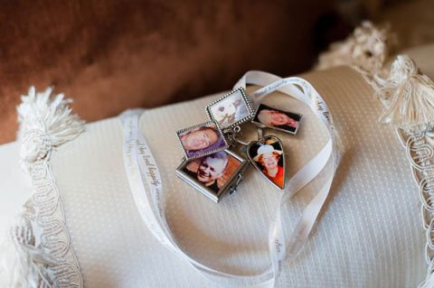 An heirloom charm bracelet for her something old | Luxury Estate Weddings and Events | See more! http://heyweddinglady.com/tuscan-inspired-hilltop-villa-wedding-in-malibu/