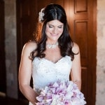 Glamorous Blush Bouquet for a Tuscan Villa Inspired Wedding | Luxury Estate Weddings and Events | See more! http://heyweddinglady.com/tuscan-inspired-hilltop-villa-wedding-in-malibu/