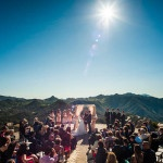 Incredible Views Surround the Hilltop Villa and Tuscany Oaks Vineyard | Luxury Estate Weddings and Events | See more! http://heyweddinglady.com/tuscan-inspired-hilltop-villa-wedding-in-malibu/